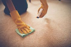 A to Z: How to Remove Stains from Clothes and Carpets
