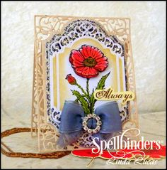 #Spellbinders Tuesday Video Tutorial by designer @Lovely Linda  , Fun in the Sun card, DIY, handmade