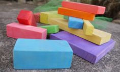 MultiColoured Traditional Assorted Wooden by BoardsBagsnBlocks, $9.95