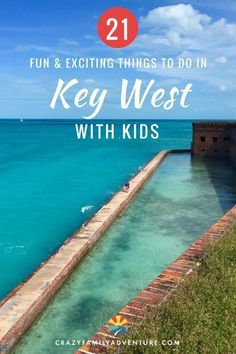 Key West, Florida can be an incredible family despite it's reputation for being a party town! Check out our ideas for 21 things to do with in We have the scoop on the best to snorkel and swim, and beach bars to relax at, and the best. Best Family Vacation Spots, Family Vacation Destinations, Family Travel, Travel Destinations, Vacation Ideas, Vacation Movie, Vacation Quotes, Visit Florida, Florida Vacation