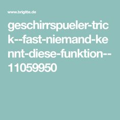 geschirrspueler-trick--fast-niemand-kennt-diese-funktion--11059950