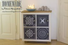 DIY Idee: IKEA Hack Kommode mit Mandalas - Home made living by Patricia Morgenthaler