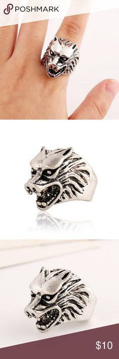 Punk style Walt head shape ring Product Details Gender: For Men Metal Type: Copper Alloy Style: Punk Shape/Pattern:Animal Diameter:19MM Weight:0.040kg Package Contents:1 x Ring Accessories Jewelry