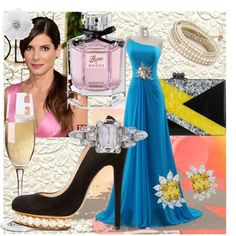 """Sandra Bullock at the #Oscar Academy Awards #2014"" by secondhandswaggy on Polyvore"