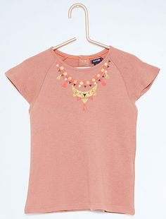 Tee-shirt avec fil brillant                                                                                                                                              gris anthracite Petite fille