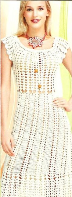PDF Pattern only - a crochet spring/summer fashion crochet dress - Digital file