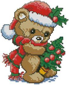 Advanced Embroidery Designs - Teddy Bear Santa