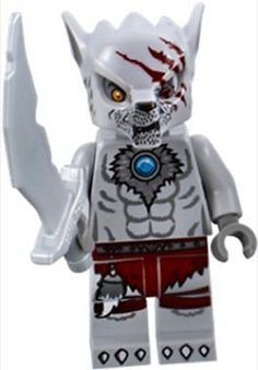 LEGO Legends of Chima: WINZAR from Wolf Tribe Minifigure & Weapons/Accessories