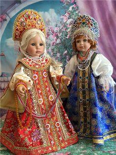 Барышня-боярышня / Другие коллекционные куклы / Бэйбики. Куклы фото. Одежда для кукол