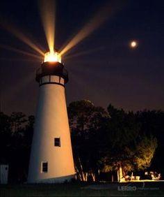 Amelia Island Lighthouse, via Flickr. by cookshengtong