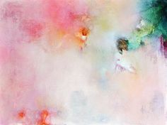 Spring flowers  original abstract painting modern by Natureandart, $220.00