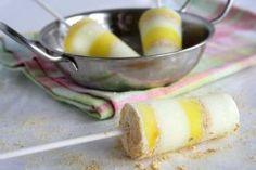 Yogurt Lemon Pie Popsicle