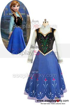 2013-Disney-Film-Frozen-Princess-Anna-Cosplay-Costume-8