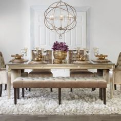 chic combo - axis dining collection from z gallerie | home