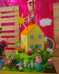 I Pig Cakes, Peppa Pig Birthday Cake, Torte Cake, Kit, Meet, Food Cakes