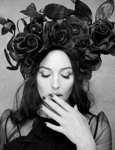 ♥ Monica Bellucci photographed by Rankin. Hunger Magazine no2 SS 2012