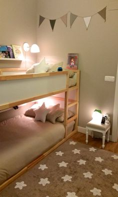 standart ikea kura bed with lights digsdigs