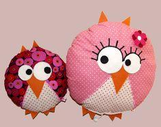 Doudoumamanhiboubbhibou owl pillow