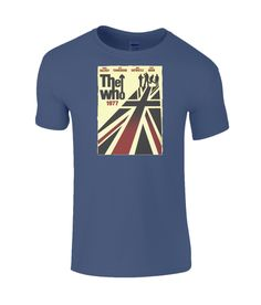 The Who Limited Edition T-Shirt Woodstock 1969 John Entwistle, Pete Townshend, Roger Daltrey, Find Music, My Generation, Jazz Blues, Woodstock, Mens Tops, T Shirt