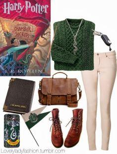 Violeta Carrasco Jiménez - Google+ - Slytherin Outfit :3
