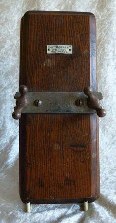 Expressive Metal Edwardian Steamer Trunk Antique Furniture Boxes/chests