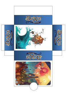 Mes ptites boites maison pour les cartes du jeu Dixit. A imprimer, découper, coller! Education, Doodle, Tabletop Games, Cards, Travel, House, Educational Illustrations, Learning, Onderwijs