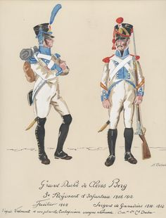 Empire, German Uniforms, Military Uniforms, French Army, French Revolution, Napoleonic Wars, Military Art, Warfare, Reno