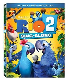 Rio 2 Sing-along Edition DVD Giveaway + Free Printables - Two Classy Chics