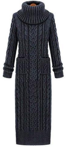 Women's Hand Knit Dress 23E