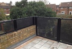 RSG4200 balustrades fitted to a residential flat in London.