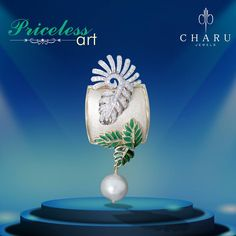 Artistic #real #diamond #jewelery from #Charu #Jewels