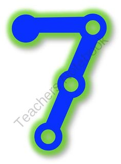 Touch Math Poster Printables from Pioneer Teacher on TeachersNotebook.com -  (10 pages)  - Touch Math poster printables 0-9