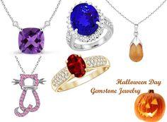 Halloween Day Gemstone Jewelry