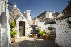 Do you have a thing for magical places? I know i do! :) I found one in southern Italy. Alberobello is one of the most beautiful town Ihave ever seen. The 'trulli' or the small round c…