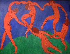 """La Danse"" de Matisse, 1909."