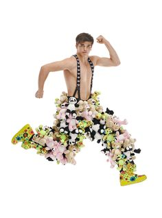 River Viiperi is Air Bound for Adidas by Jeremy Scott Fall/Winter 2012