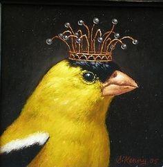 Bird - Art of Steven Kenny Animal Art, Fine Art, Paintings Tumblr, Anthropomorphic, Painting, Whimsical Art, Illustration Art, Art, Bird Art