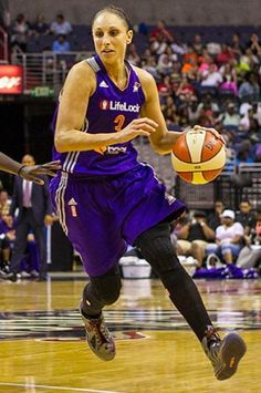 My favorite player Diana Taurasi who plays for the Phoenix Mercury of the WNBA.