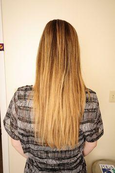 Balayage  hair by: kathryn werk  423/785-6801