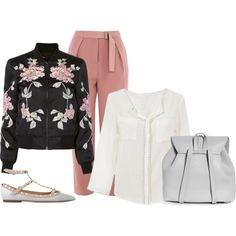 311 by vicinogiovanna on Polyvore featuring moda, 3x1, Topshop, Valentino and Boohoo