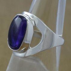Designer Amethyst Gemstone Jewellery Ring WR-2002