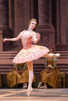 Svetlana Zakharova in The Sleeping Beauty at the Royal Opera House © Foteini Christofilopoulou
