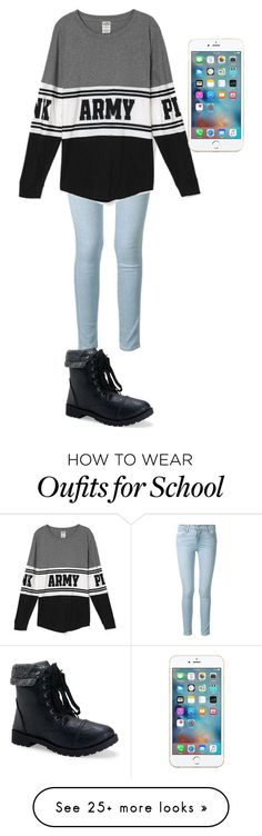 """What I'm Tomorrow For School"" by bolu on Polyvore featuring Frame Denim and Aéropostale"