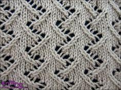 Zig Zag Lace #2 - knittingunlimited.blogspot.com