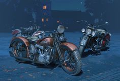 """""""Twilight"""" by Sune Envall Motorcycle Art, Bike Art, Bike Poster, Pacific Coast, Wall Murals, Harley Davidson, Classic Cars, Artwork, Motorcycles"""