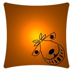 Buy Space Hopper - Art Print Cushion at WeLoveCushions.co.uk