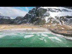Surfing the Arctic Ocean - Gore-Tex Experience Tour 2016 Lofoten Islands, Norway - DJI Phantom 4 Dji Phantom 4, Norway Travel, Lofoten, Fishing Villages, Inspirational Videos, World Famous, Lodges, Arctic, Trip Planning