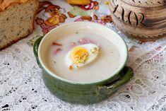 Żurek wielkanocny z jajkiem Panna Cotta, Breakfast, Ethnic Recipes, Blog, Morning Coffee, Dulce De Leche, Blogging