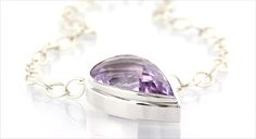 LILAC-GLAM* big handmade jewel in polished silver with amethyst Lilac, Amethyst, Wedding Rings, Engagement Rings, Jewels, Big, Silver, Handmade, Rings For Engagement