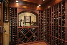Making a DIY wine rack can be incredibly rewarding. Browse through fun DIY wine closet, DIY wine storage, and DIY wine rack ideas. Create a do it yourself wine rack project. Wine Cellar Racks, Rustic Wine Racks, Traditional Wine Racks, Wine Cellar Innovations, Home Wine Cellars, Wine Rack Storage, Wine Cellar Design, Vintage, Wine Rooms